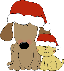 Dog and cat Christmas IV